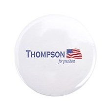 "Fred Thompson for president f 3.5"" Button (100 pac"