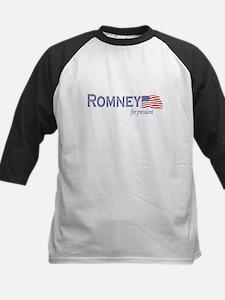Mitt Romney for president fla Kids Baseball Jersey
