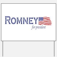Mitt Romney for president fla Yard Sign