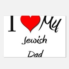 I Love My Jewish Dad Postcards (Package of 8)