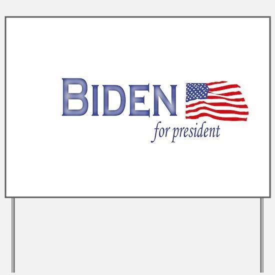 Joe Biden for president flag Yard Sign