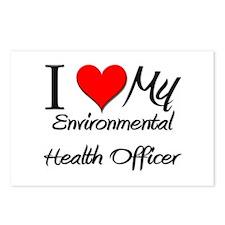 I Heart My Environmental Health Officer Postcards
