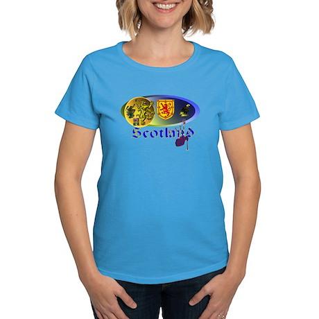 Dynamic Scotland.1 Women's Dark T-Shirt