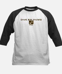 Central Asian Ovtcharka Pride Kids Baseball Jersey