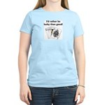 Rather be lucky Women's Pink T-Shirt