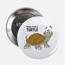 Proud To Be A Turtle Button