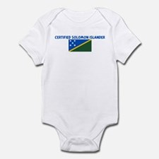 CERTIFIED SOLOMON ISLANDER Infant Bodysuit