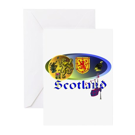 Dynamic Scotland.1 Greeting Cards (Pk of 10)