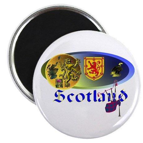 "Dynamic Scotland.1 2.25"" Magnet (10 pack)"