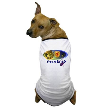Dynamic Scotland.1 Dog T-Shirt