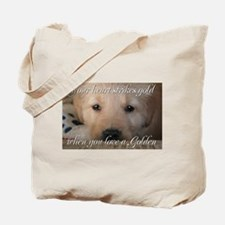 Your heart strikes gold Tote Bag