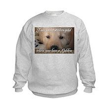 Your heart strikes gold Sweatshirt