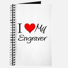 I Heart My Engraver Journal