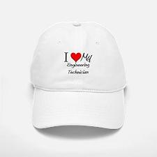 I Heart My Engineering Technician Baseball Baseball Cap