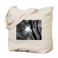 Cute Scary tree Tote Bag