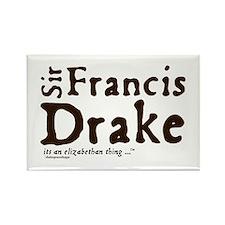 Sir Francis Drake Rectangle Magnet