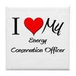 I Heart My Energy Conservation Officer Tile Coaste