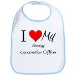 I Heart My Energy Conservation Officer Bib