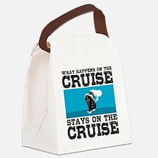Cute Cruise souvenirs Canvas Lunch Bag