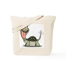 Funny Turtle Tote Bag