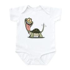 Funny Turtle Infant Creeper