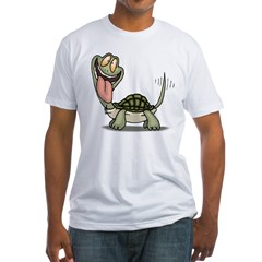 Funny Turtle Fitted T-Shirt