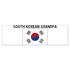 SOUTH KOREAN GRANDPA Bumper Bumper Sticker