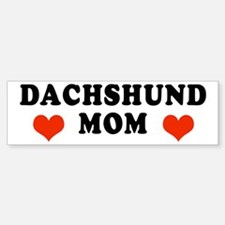 Dachshund Mom Bumper Bumper Bumper Sticker