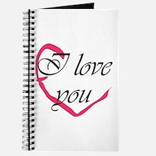 I love you Heart Journal