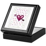 Pretty Hearts Keepsake Box