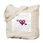 Pretty Hearts Tote Bag
