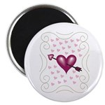 Pretty Hearts Magnet