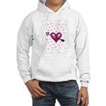 Pretty Hearts Hooded Sweatshirt