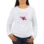 Pretty Hearts Women's Long Sleeve T-Shirt