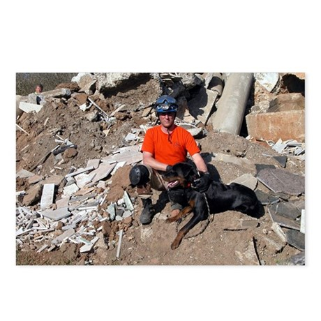 Rescue K9 Postcards (Package of 8)