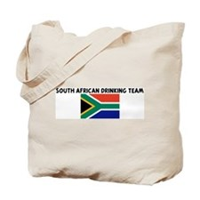 SOUTH AFRICAN DRINKING TEAM Tote Bag