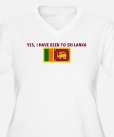 YES I HAVE BEEN TO SRI LANKA T-Shirt