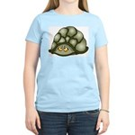 Cute Turtle Women's Pink T-Shirt