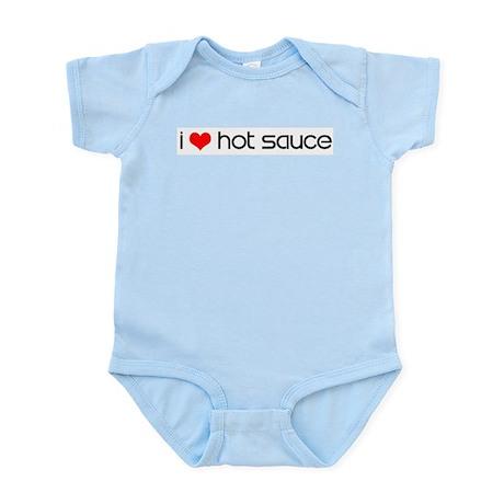 I Love Hot Sauce - Infant Creeper