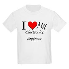 I Heart My Electronics Engineer T-Shirt