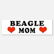 Beagle Mom Bumper Bumper Bumper Sticker