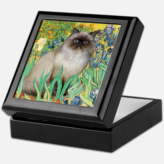 Irises / Himalayan Keepsake Box