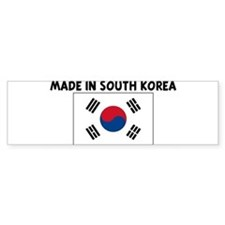 MADE IN SOUTH KOREA Bumper Bumper Sticker