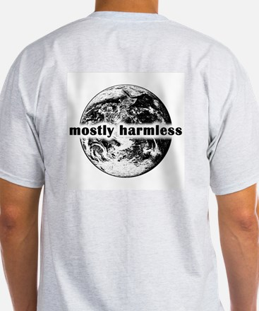 Mostly Harmless Ash Grey T-Shirt