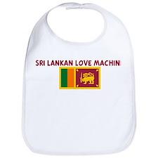 SRI LANKAN LOVE MACHINE Bib