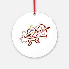 Cupid Ornament (Round)