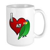 Love my red lored amazon Coffee Mugs