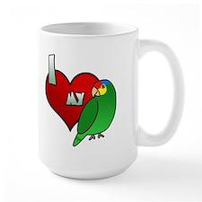 Love Red Lored Amazon Mug