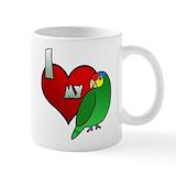 Love my red lored amazon Coffee Mugs