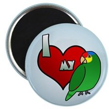 Love Red Lored Amazon Magnet